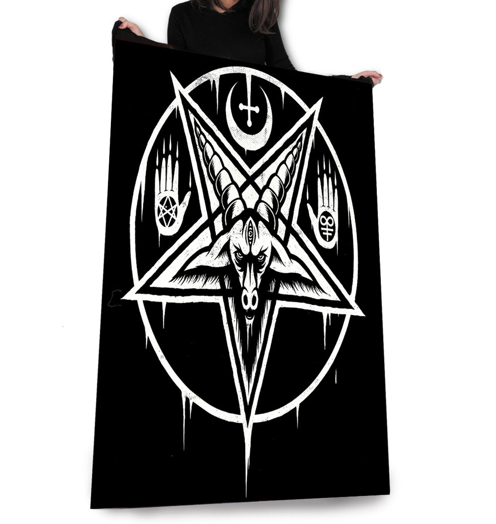 Image of Pentagram Baphomet Fleece