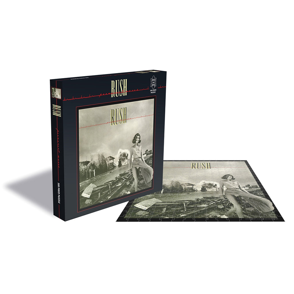 RockSaws - PERMANENT WAVES - Rush 500pc Puzzle