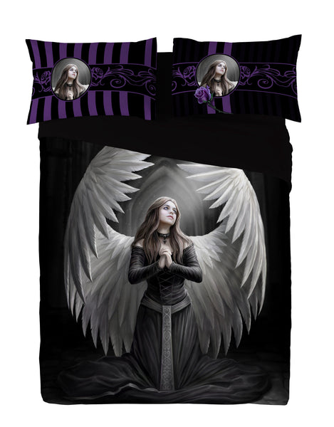 Wild Star - GUARDIAN ANGEL - Duvet & Pillowcases Covers Set UK Kingsize