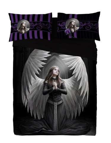 Wild Star - GUARDIAN ANGEL - Duvet & Pillowcases Covers Set UK Double