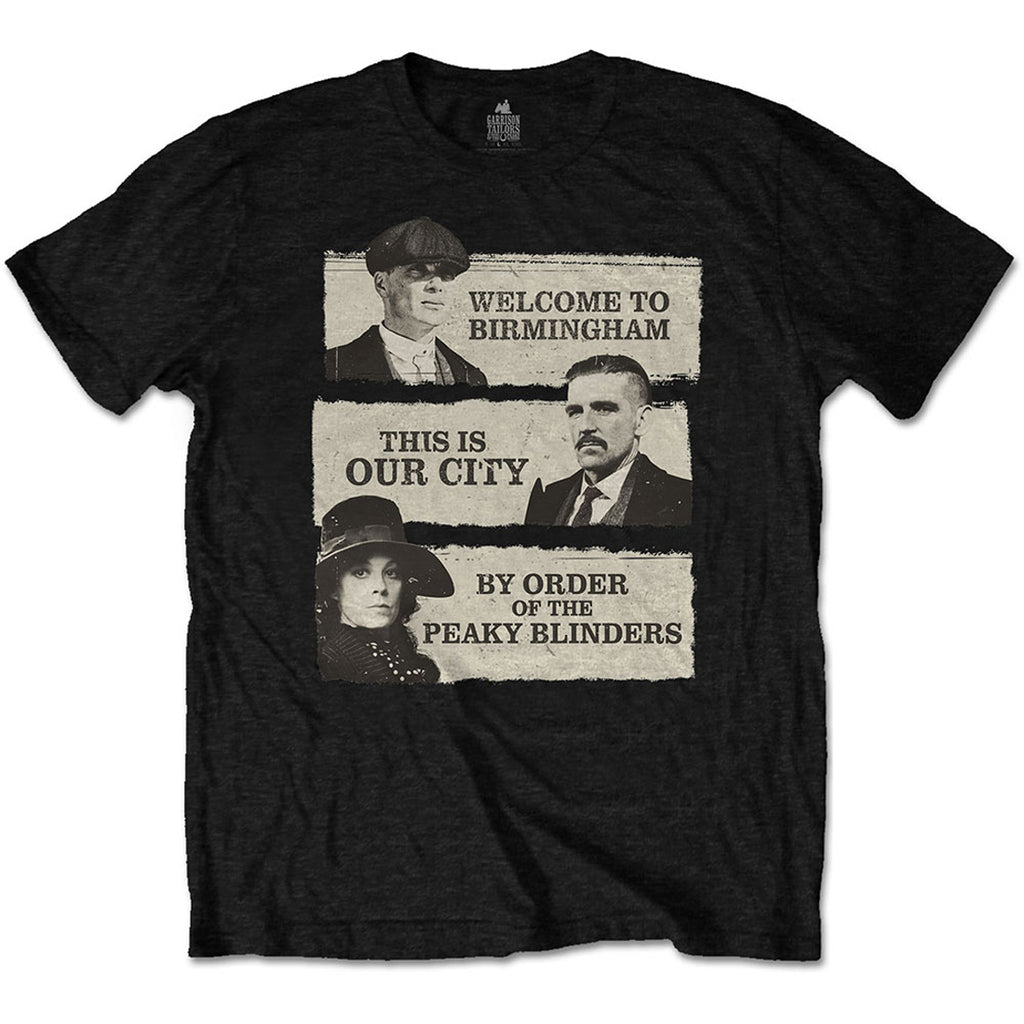Rock Off - THIS IS OUR CITY - Peaky Blinders T-Shirt