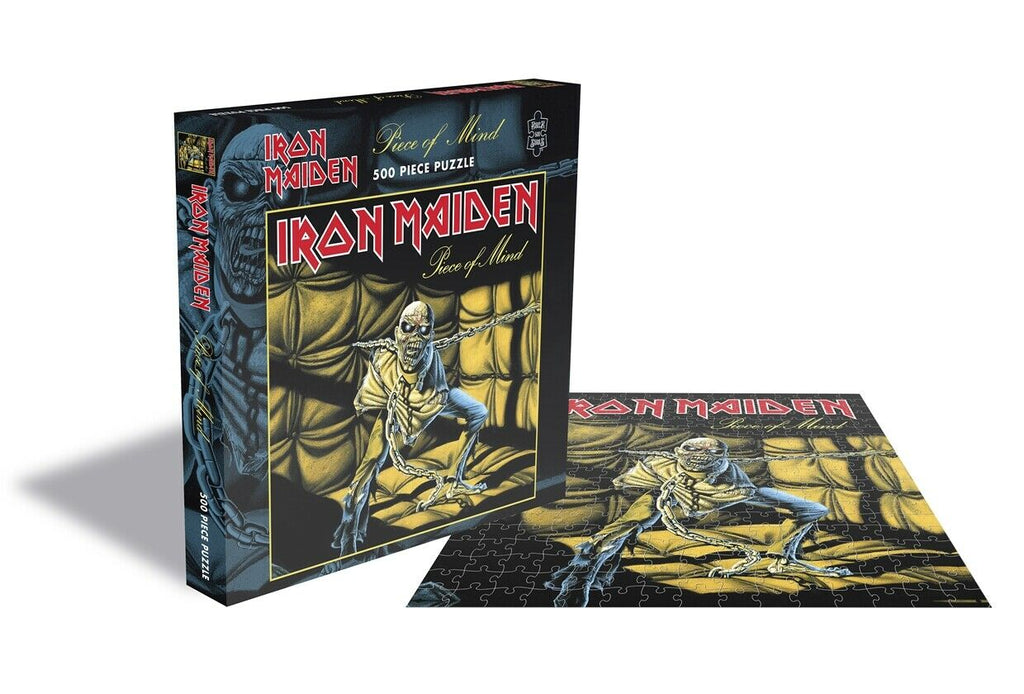 RockSaws - PIECE OF MIND - Iron Maiden - 500pc Puzzle