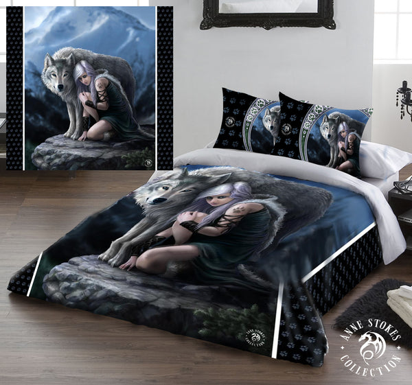 PROTECTOR - Duvet & Pillow Cases Cover Set UK King/US Queen