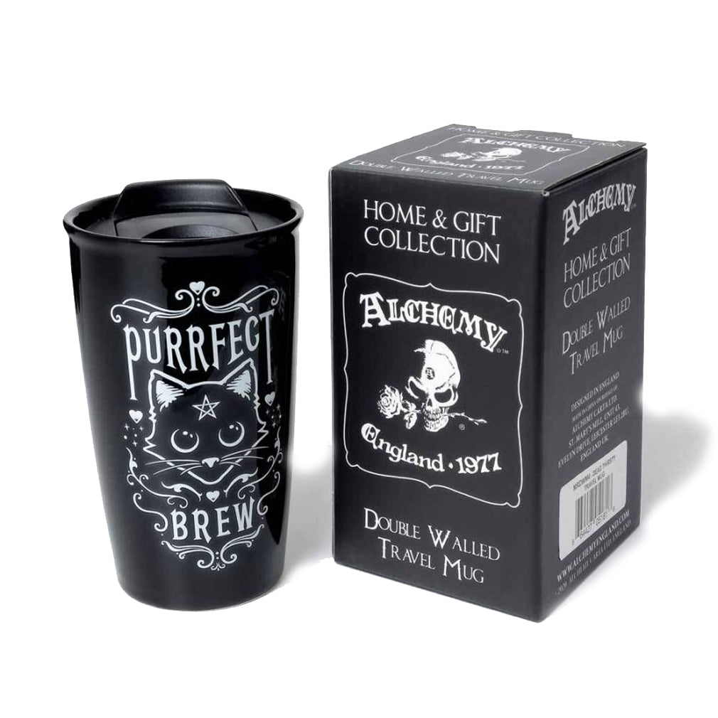 Alchemy - PURRFECT BREW - Double Walled Mug