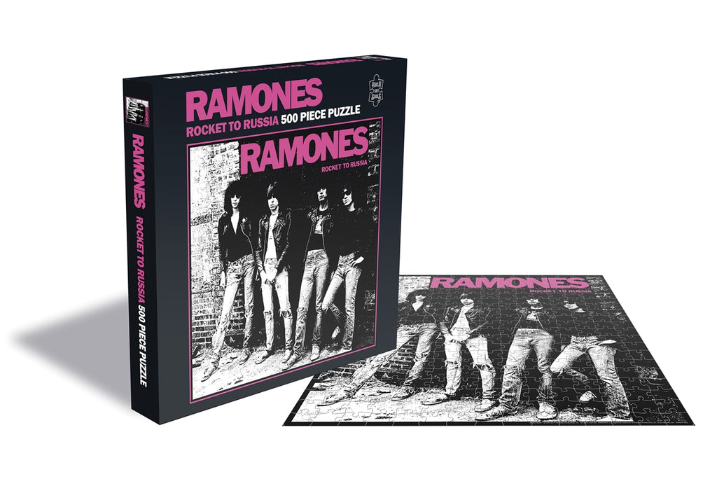 Rock Saws - Ramones -  ROCKET TO RUSSIA - 500 piece Jigsaw Puzzle