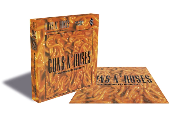 RockSaws - THE SPAGHETTI INCIDENT? - Guns N Roses 500pc Puzzle