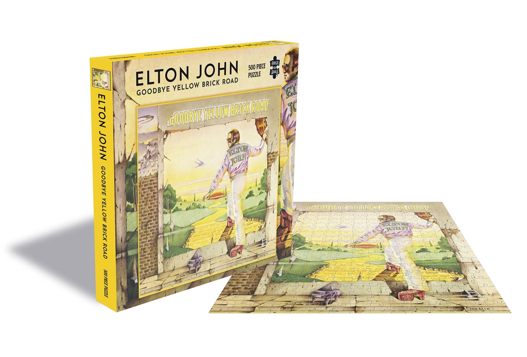 Rock Saws - ELTON JOHN GOODBYE YELLOW BRICK ROAD - 500 piece Jigsaw Puzzle