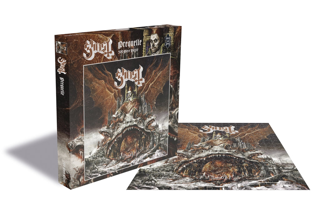Rock Saws - Ghost PREQUELLE - 500 piece Jigsaw Puzzle