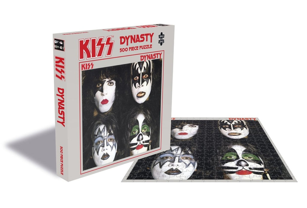 Rock Saws - Kiss DYNASTY - 500 piece Jigsaw Puzzle