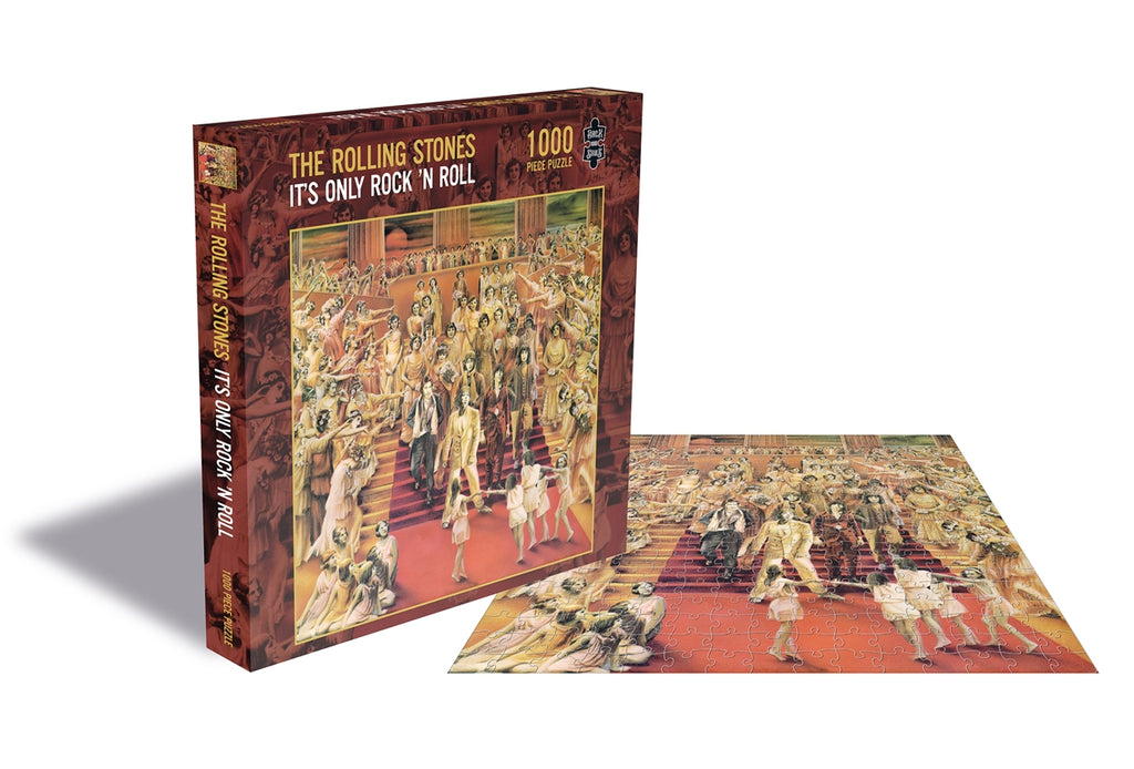 RockSaws - IT'S ONLY ROCK N ROLL - Rolling Stones 500pc Puzzle