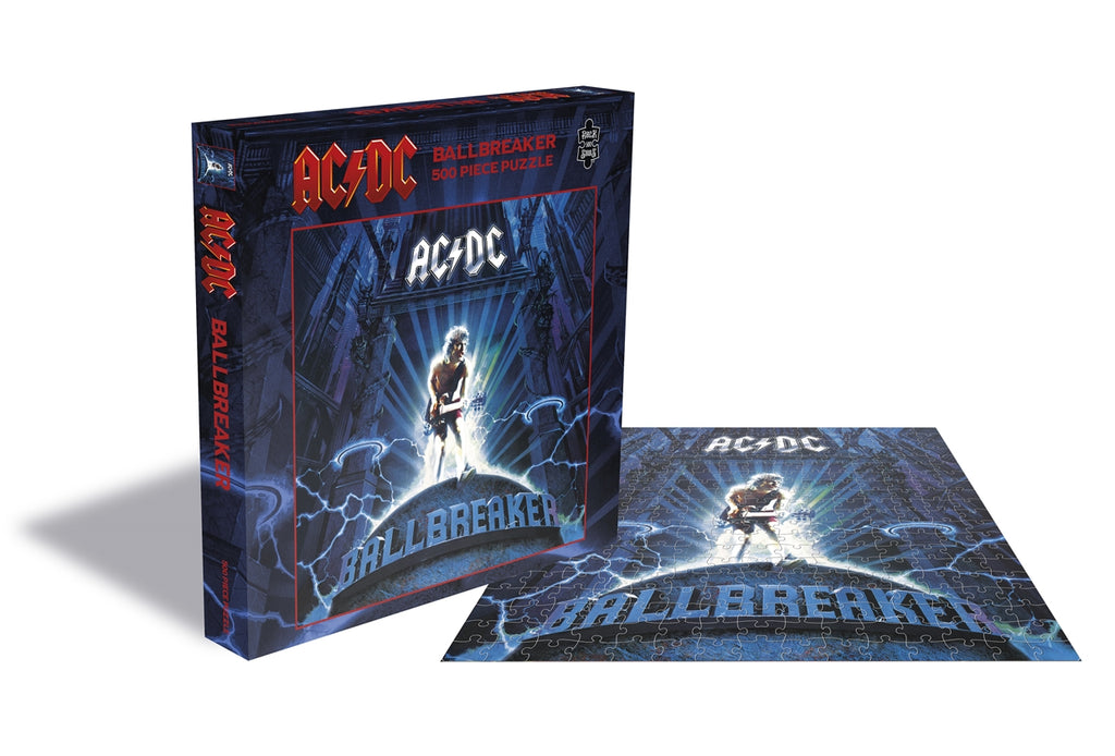 RockSaws - BALLBREAKER - AC/DC 500pc Puzzle