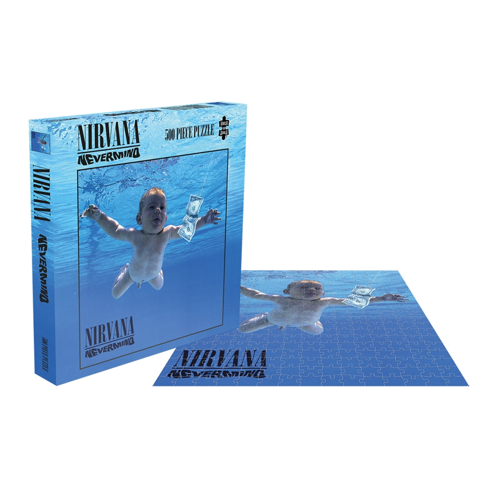 RockSaws - NEVERMIND - Nirvana 500pc Puzzle