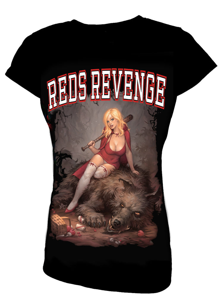 Wild Star - RED'S REVENGE - Womens Capsleeve T-Shirt