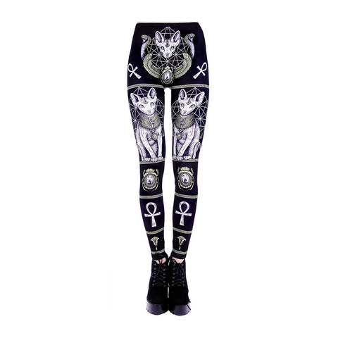 Restyle - SPHINX LEGGINGS - Womens Leggings