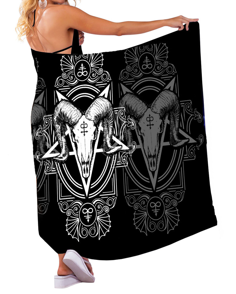 Image of Sarong with Model