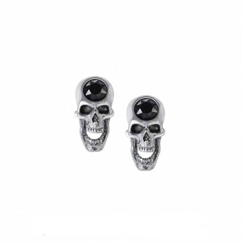 Alchemy - SCREAMING SKULLS - Stud Earrings