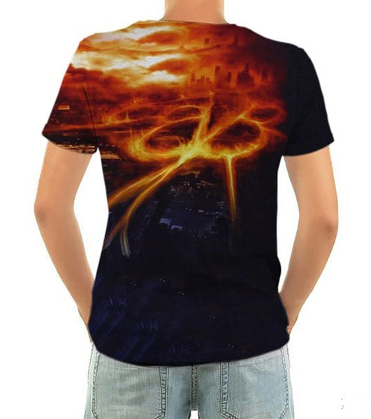 Born2Rock - SET THE WORLD ON FIRE - Black Veil Brides - Men's T-Shirt