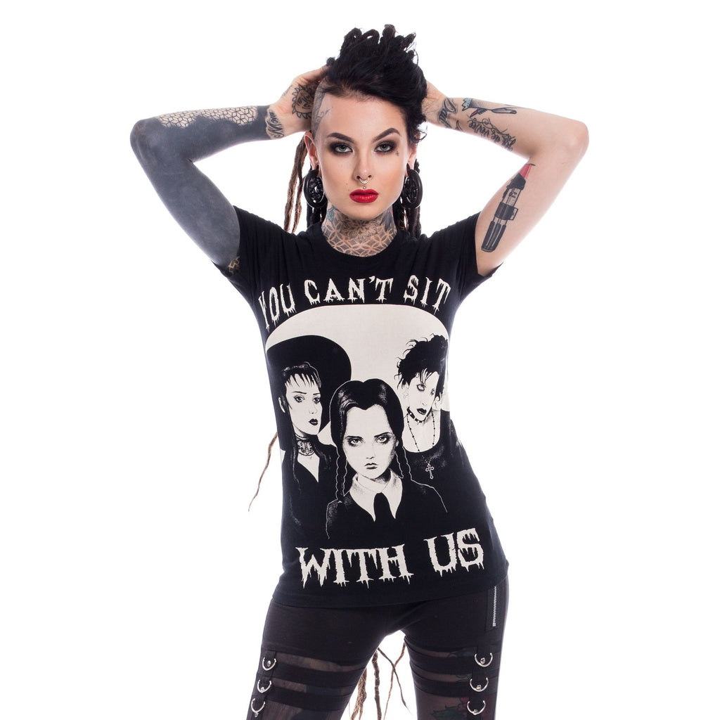 Heartless - YOU CAN'T S SIT WITH US - Womens Tee