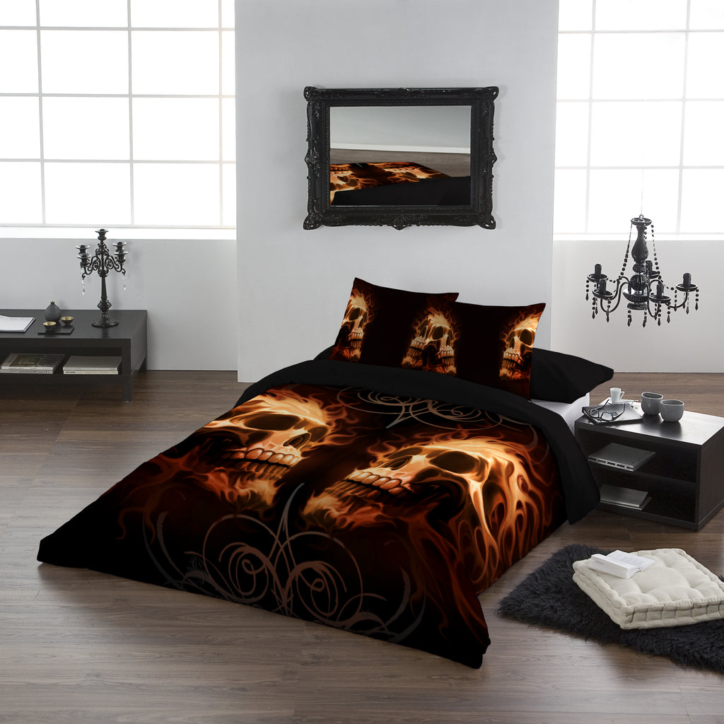 Image of Duvet Set on a Bed