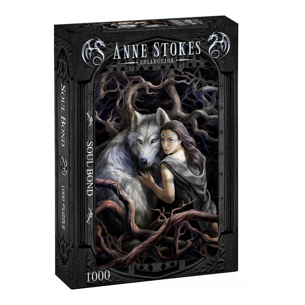 Anne Stokes - SOUL BOND - 1000 piece jigsaw