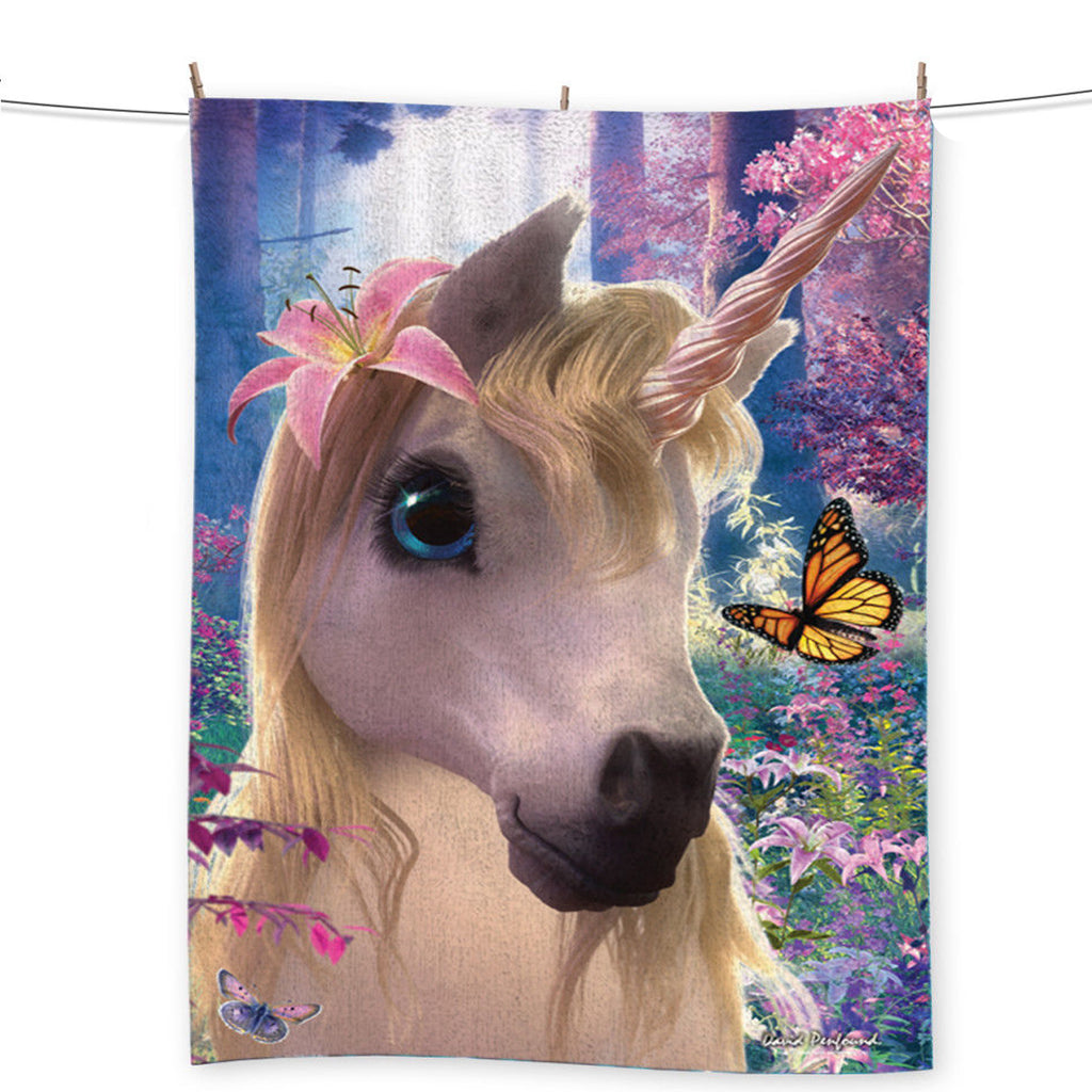 Image of Sparkles Unicorn Beach Towel