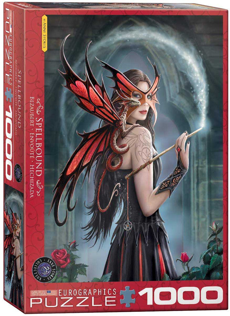 SPELLBOUND - 1000 piece Jigsaw Puzzle by Anne Stokes