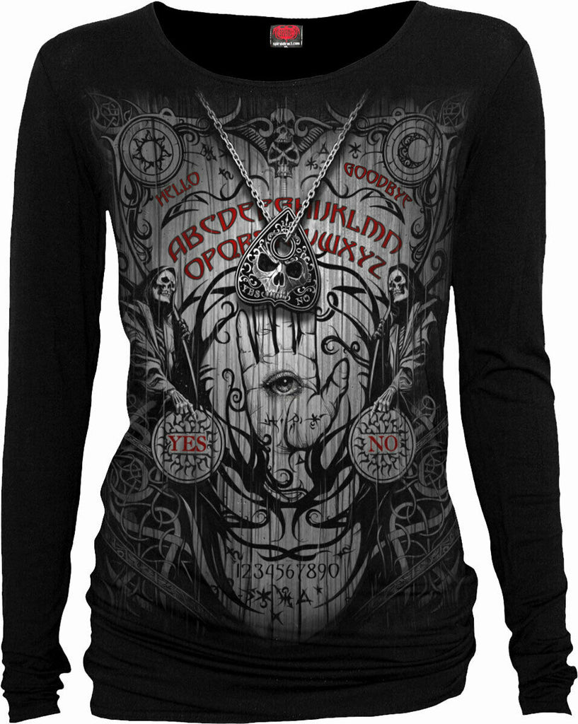 Image of front of Goth Top