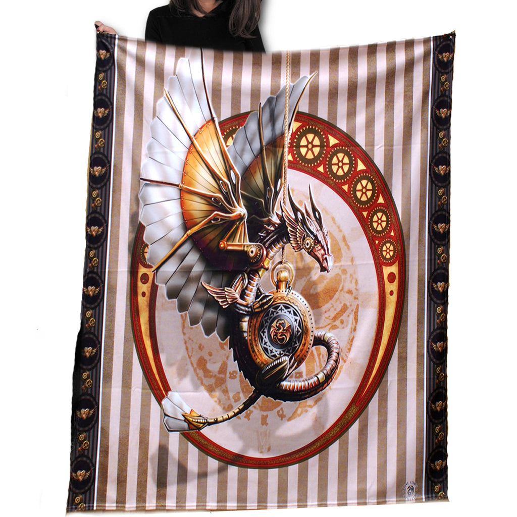 Image of Steampunk Dragon Fleece