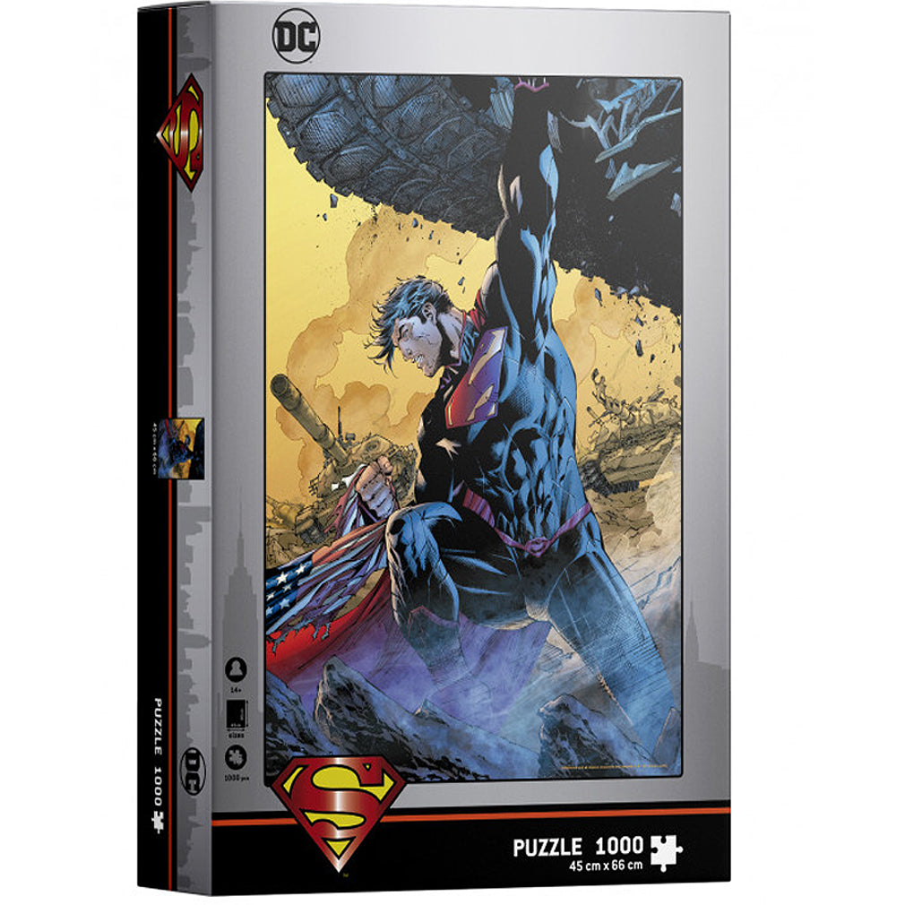 DC Comics - Superman Tank - 1000pc Puzzle