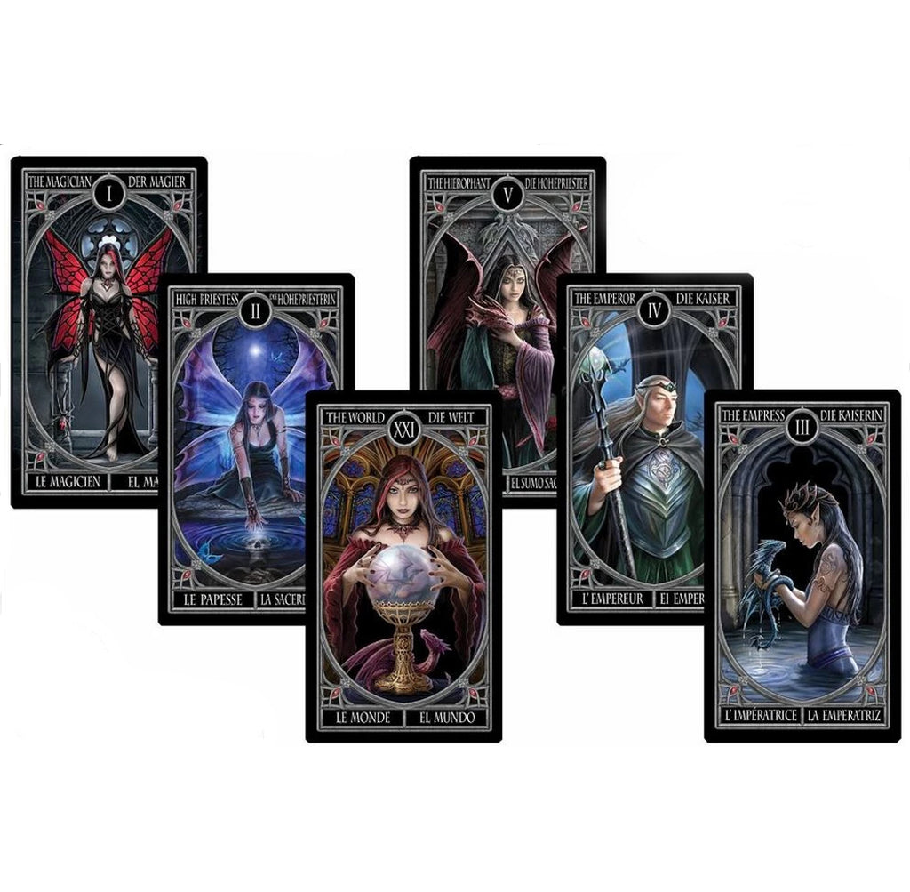 FOURNIER - ANNE STOKES TAROT CARDS
