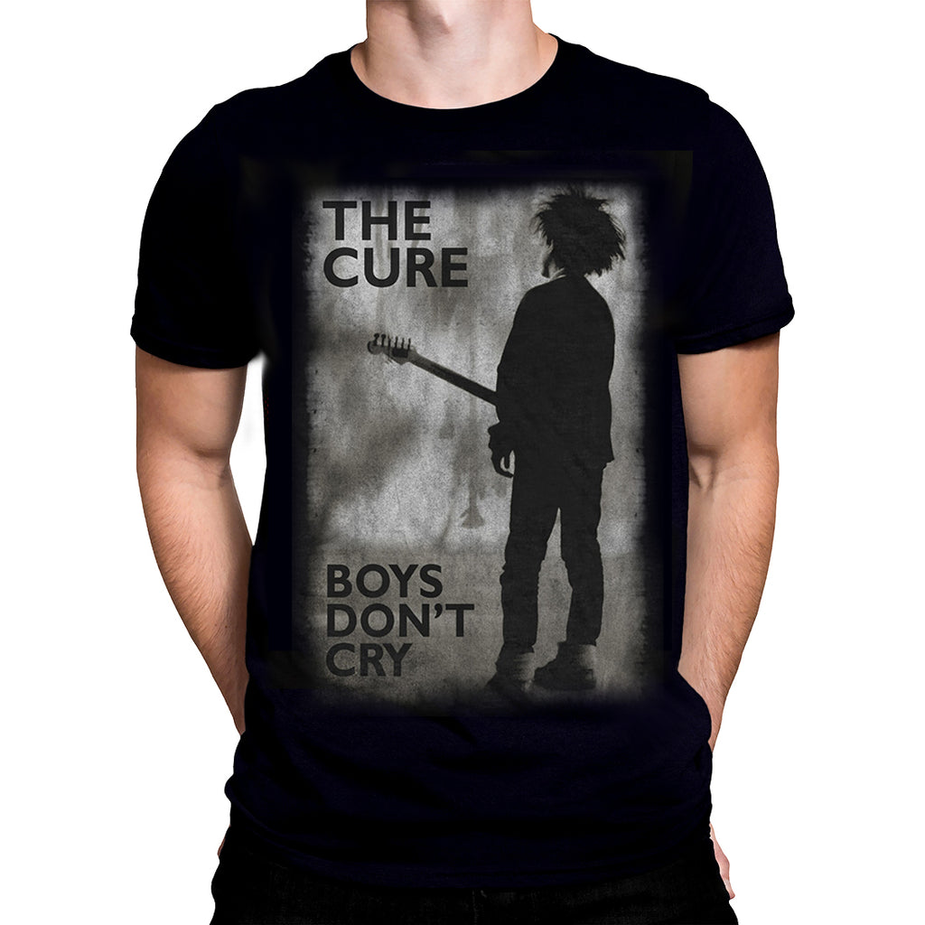 Rock Off - The Cure Boys Don't Cry - Mens T-Shirt