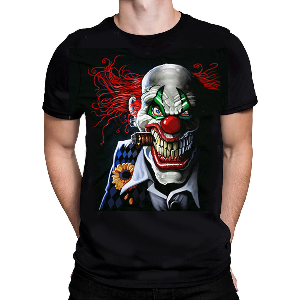 Liquid Blue - TWISTED CLOWN - Short Sleeve T-Shirt PLUS SIZES