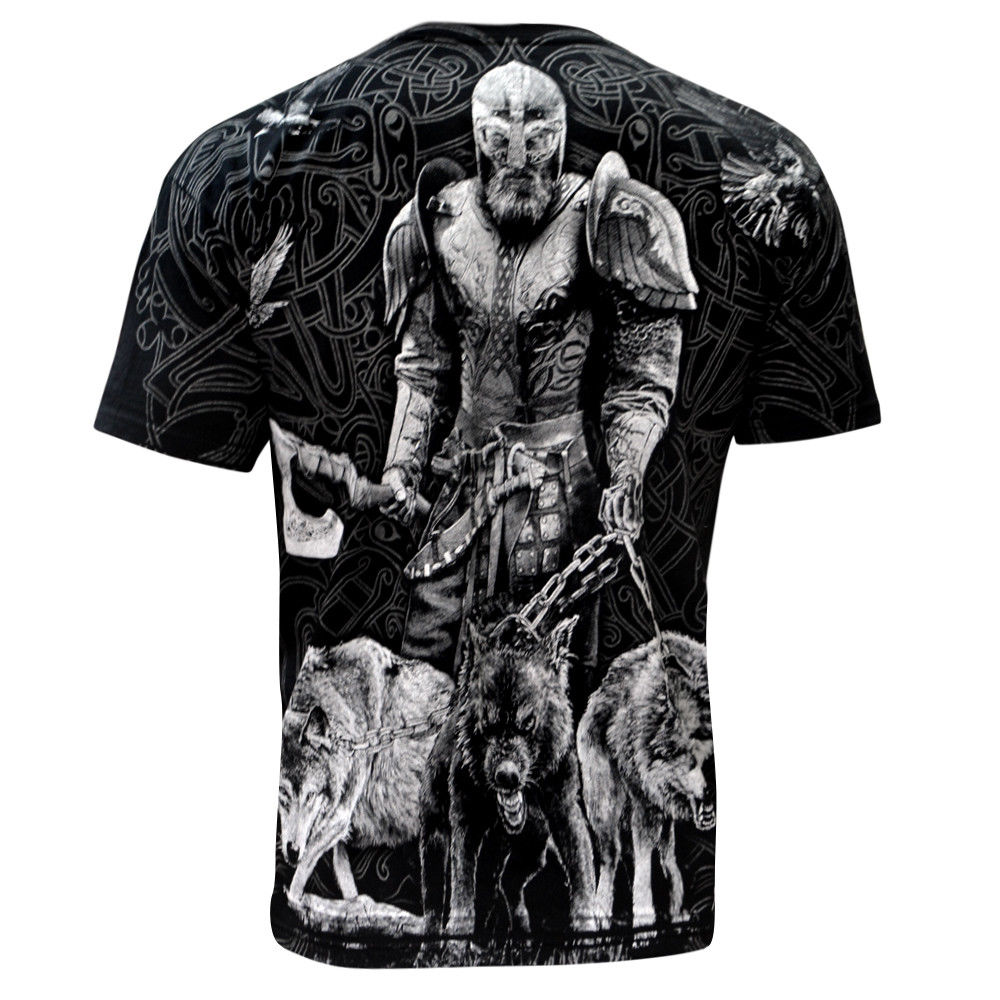 Aquila - VIKING HUNTER - Mens T-Shirt