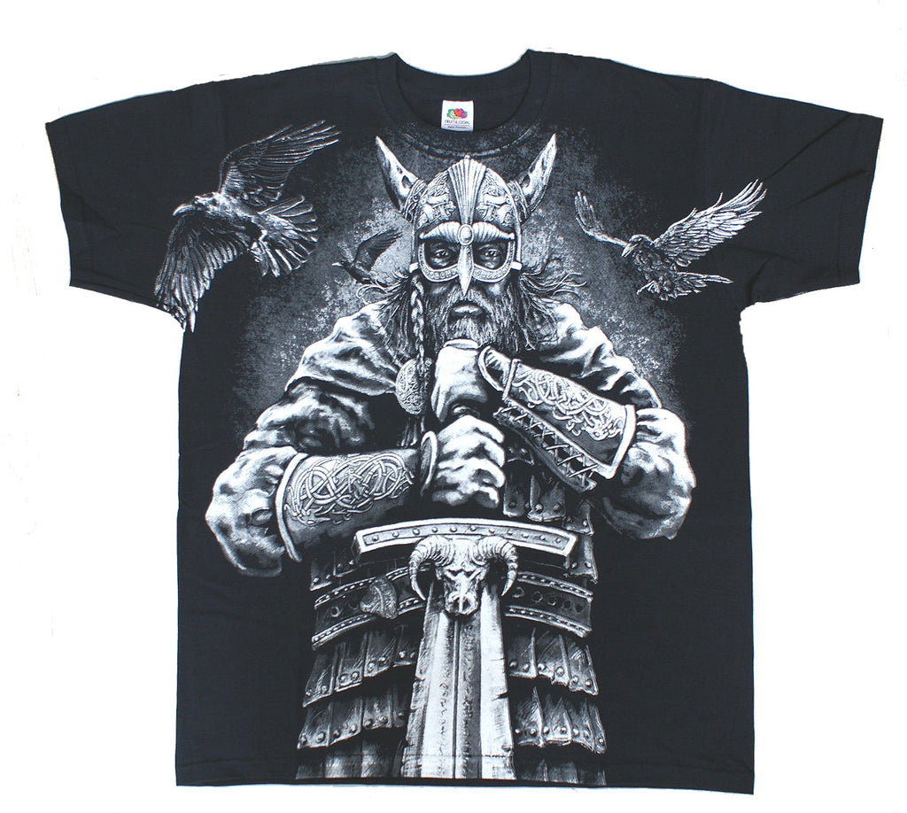 Aquila - VIKING WARRIOR - Men's T-Shirt