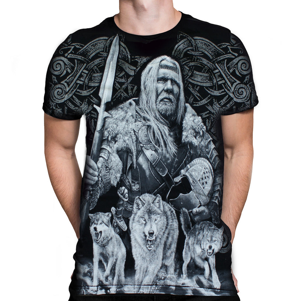 Aquila VIKING T SHIRT ODIN WHITE