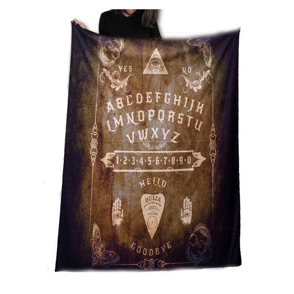 Wild Star - Vintage Ouija Board - Fleece/Throw/Tapestry
