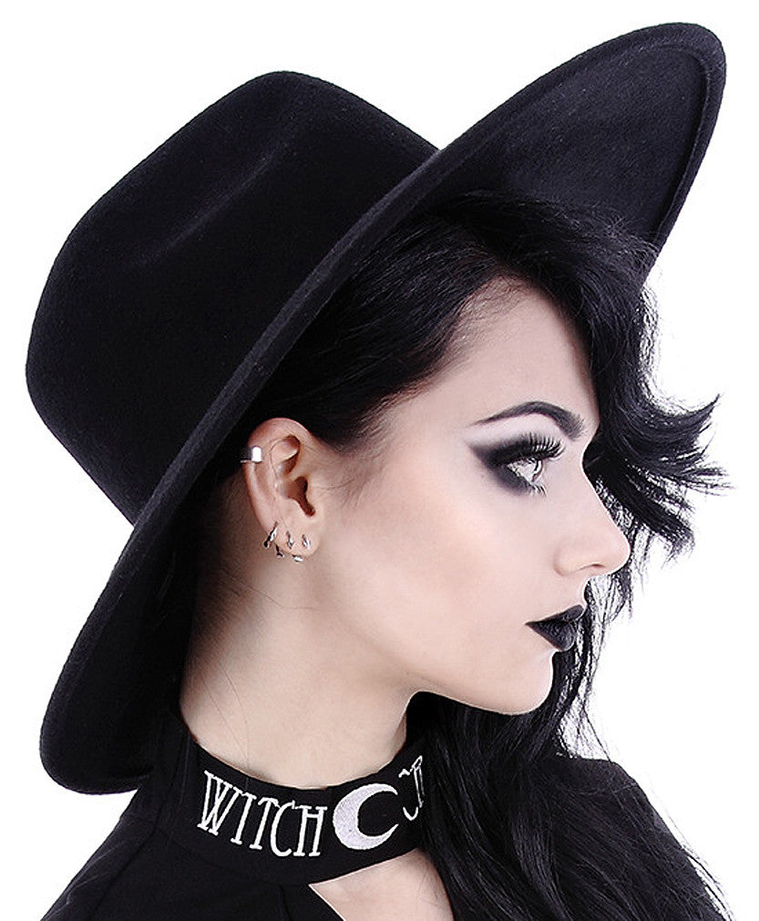 Restyle  - WITCH HAT -  Steampunk Fashion Accessory
