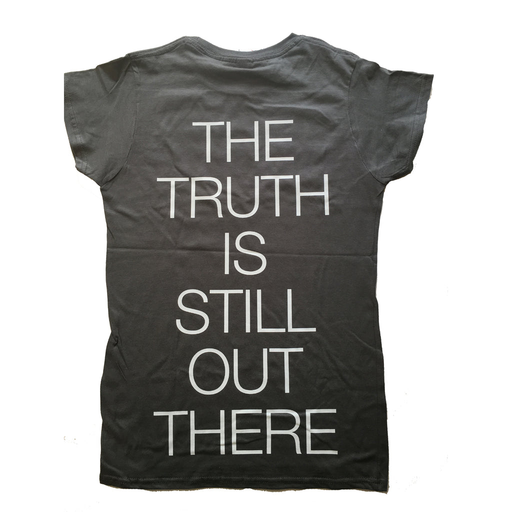 X-Files - The Truth Is Out There - Womens Cap Sleeve T-Shirt