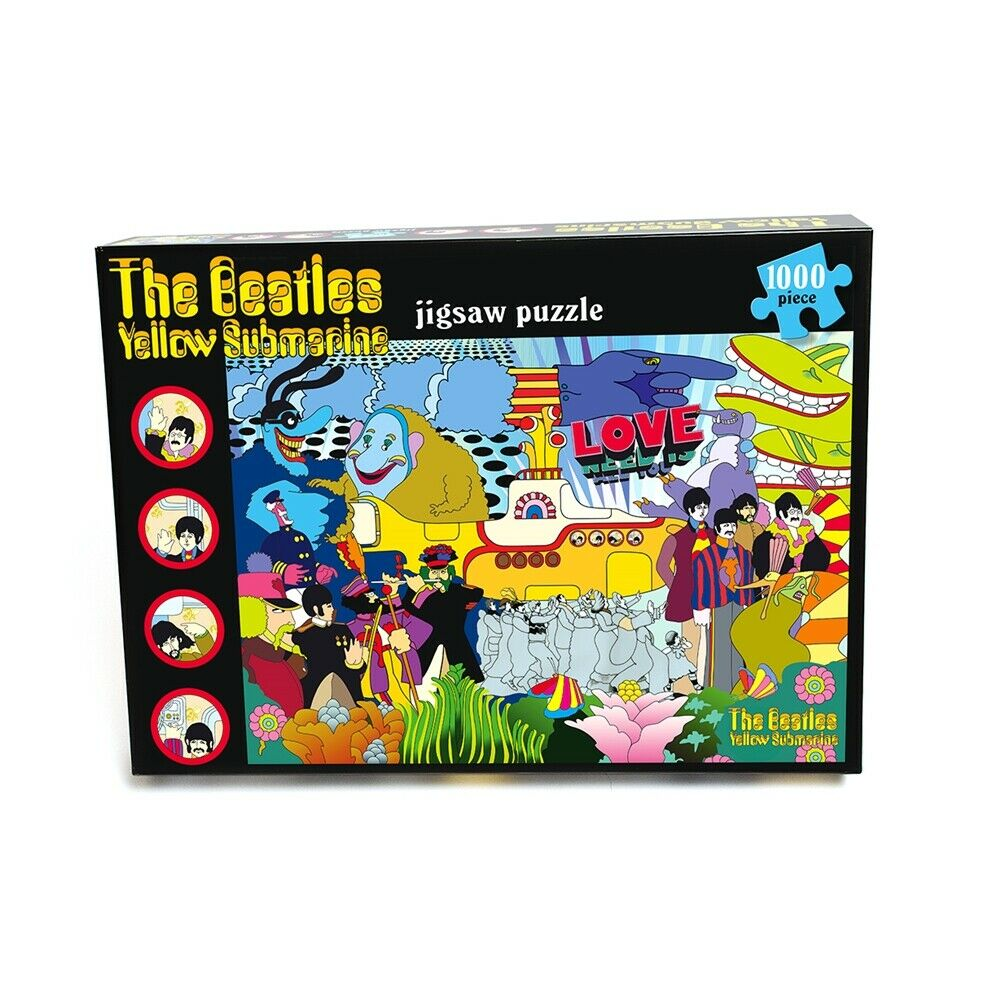 The Beatles - YELLOW SUBMARINE - 1000 piece Jigsaw Puzzle