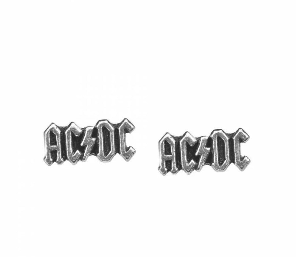 Alchemy - AC/DC Logo - Stud Earrings