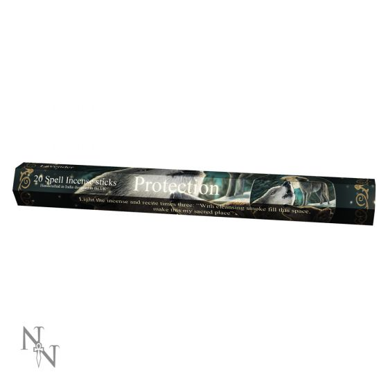 Nemesis Now - Protection Spell Lavender scented Incense Sticks by Lisa Parker