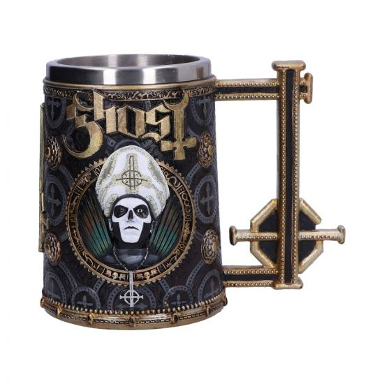 Nemesis Now - Licensed Ghost Papa Emeritus III Gold Tankard