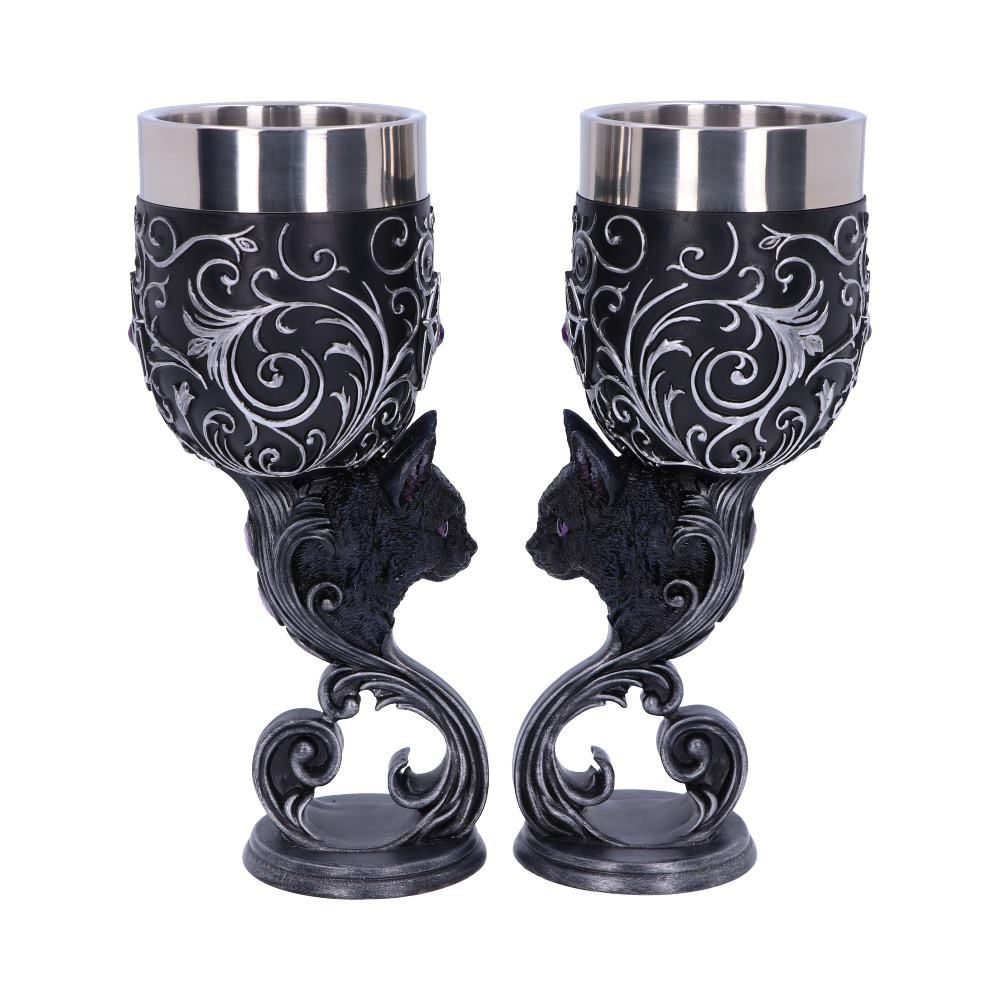 Nemesis Now - Familiars Love Goblets 18.5cm (Set of 2)