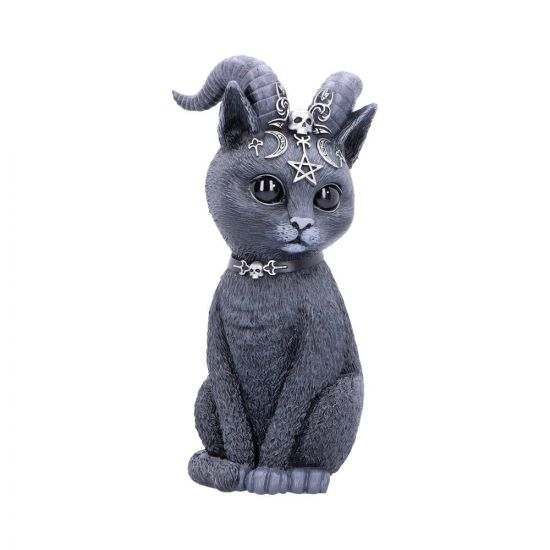 Nemesis Now - Pawzuph - Large Horned Occult Cat Figurine