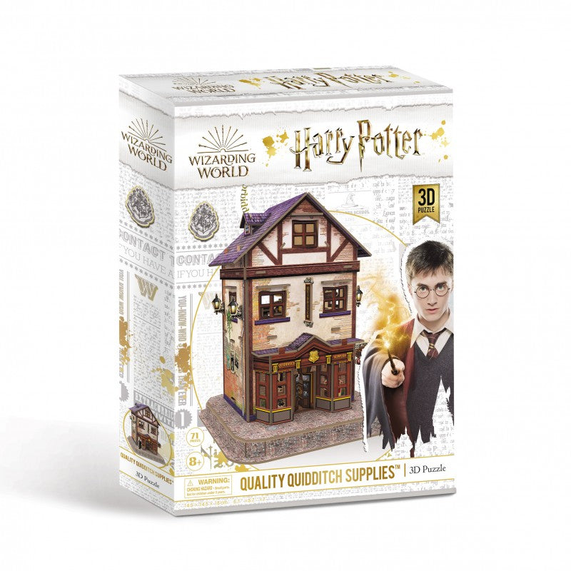 University Games - QUALITY QUIDDITCH SUPPLIES - Harry Potter 3D Puzzle