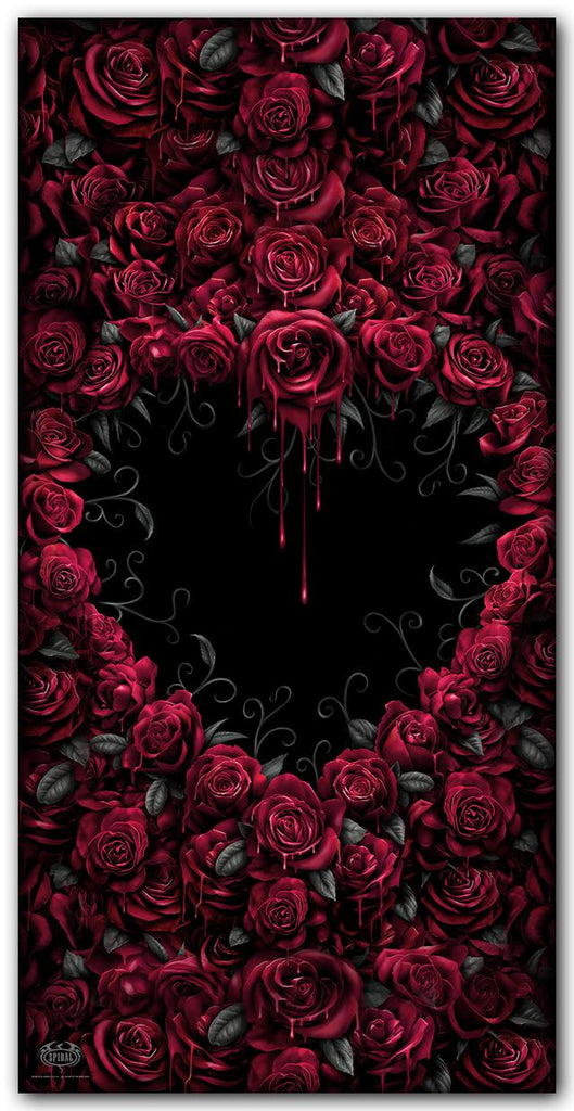 Spiral Direct - Bleeding Heart - Bath Towel