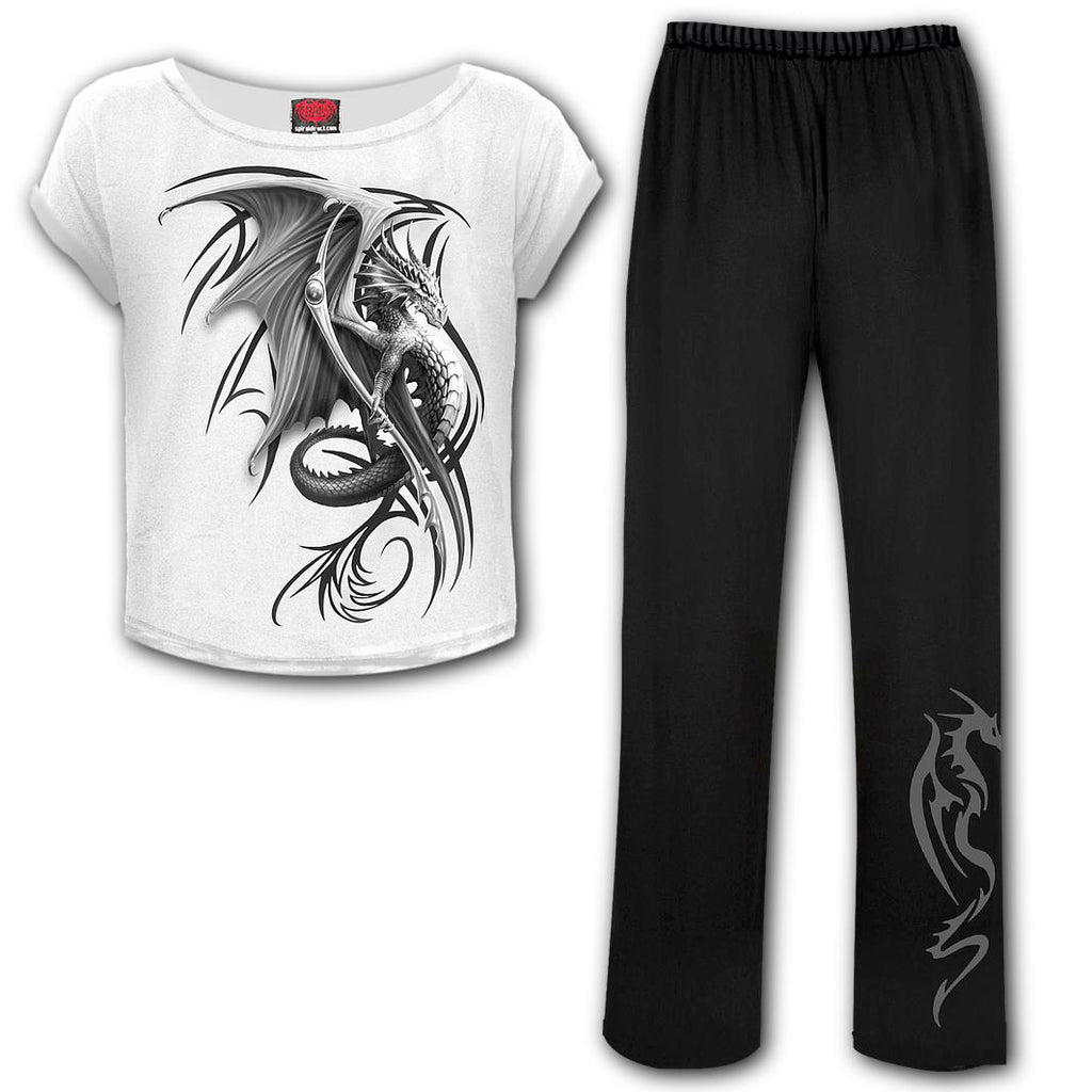 Spiral Direct - Wyvern - 4pc Gothic Pyjama Set
