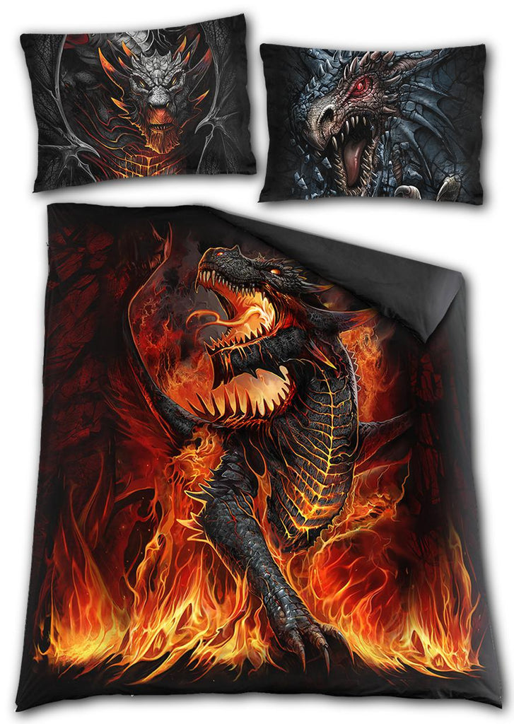 Spiral - Draconis  - Double sided Duvet Set - Double Bed