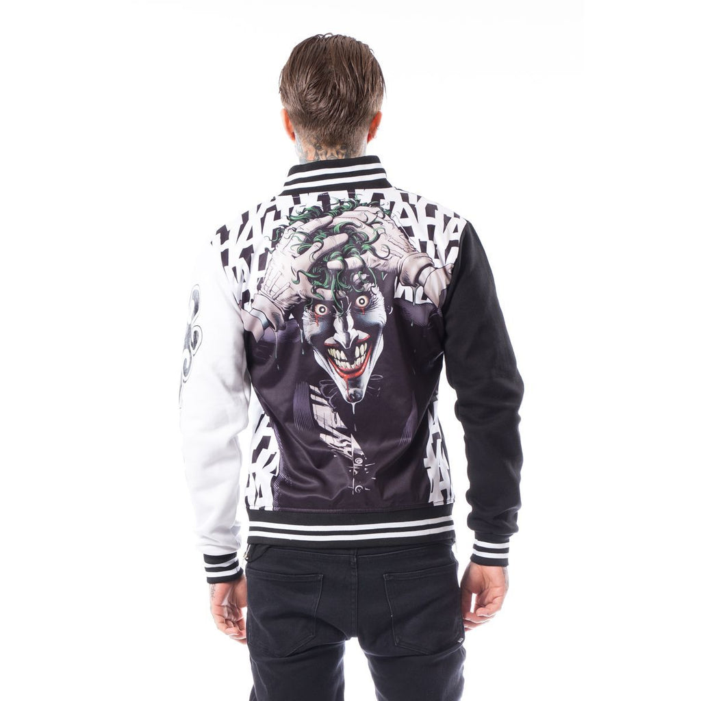 Heartless  - JOKER HA HA - Mens Cotton Varsity Jacket - Black