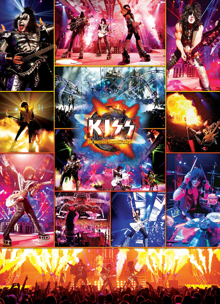 KISS The Hottest Show on Earth - 1000 piece Puzzle